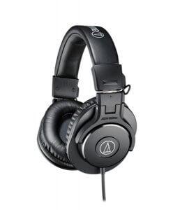 Audio Technica ATH-M50X Circumaurali