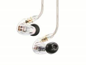 Auricolari Shure SE 315 in-ear Recensione Prezzo Specifiche tecniche